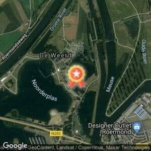 Afstand Roermond City Triathlon 2020 route