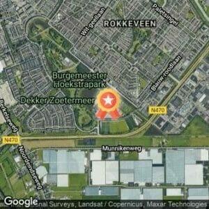 Afstand Rokkeveense Dekkerloop 2017 route