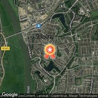 Afstand Running Center City Hanzeloop Zutphen 2022 route