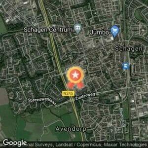 Afstand Schager Wijkenloop Centrum Schagen 2019 route