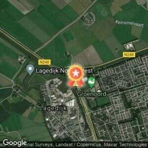 Afstand Schager Wijkenloop Groeneweg - AFGELAST 2020 route