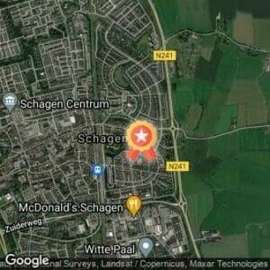 Afstand Schager Wijkenloop - Hoep Zuid/Noord 2019 route