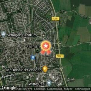 Afstand Schager Wijkenloop - Hoep Zuid/Noord - AFGELAST 2020 route