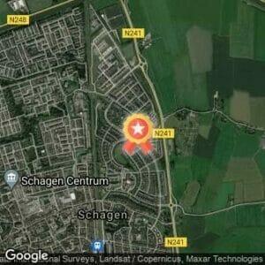 Afstand Schager Wijkenloop - Muggenburg - AFGELAST 2020 route