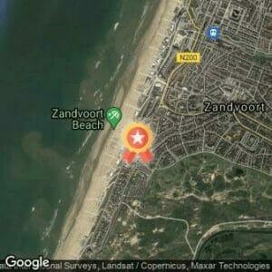 Afstand Scheveningen Zandvoort Marathon 2017 route
