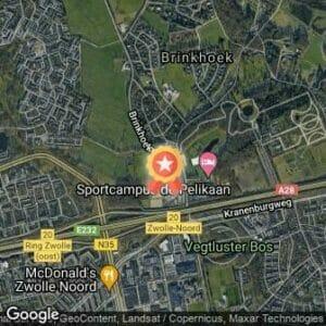 Afstand Sint Nicolaasloop Zwolle 2020 route