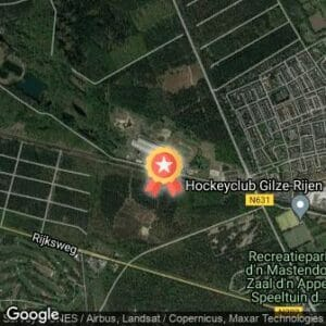 Afstand Spiridon Zomeravondlopen I 2020 route