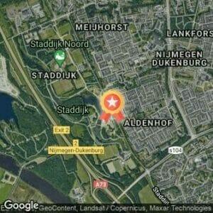Afstand Staddijkloop 2020 route