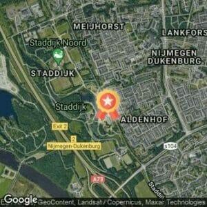 Afstand Staddijkloop 2021 route