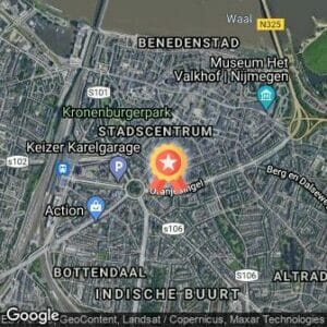 Afstand The Night Run Festival 2018 route