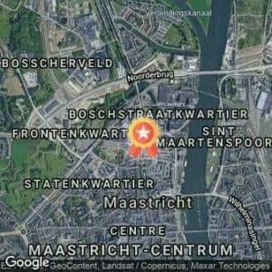 Afstand Univé Maastrichts Mooiste City Centre Trail 2019 route