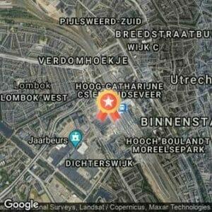 Afstand Urban Culture Run Utrecht 2017 route