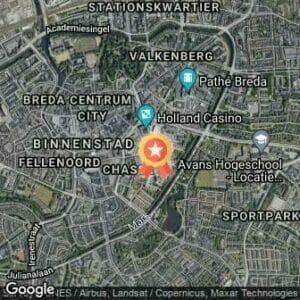 Afstand Urban Walk Breda 2020 route