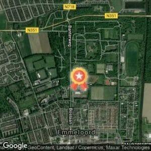 Afstand Van Staveren Bosbaanlopen 2019 route