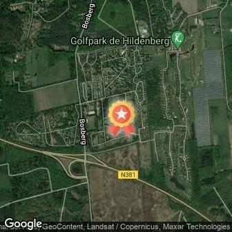 Afstand Verhoeve Groen Cross Appelscha 2021 route
