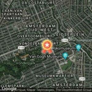 Afstand Vondel Run 2017 route
