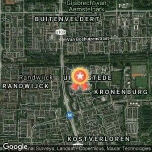 Afstand VU Polderloop 2019 route
