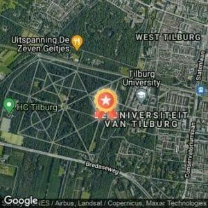 Afstand Warandeloop Tilburg zondag 2021 route
