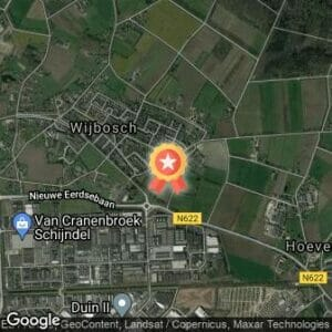 Afstand Wijboschloop 2018 route
