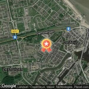 Afstand Zeemijlenloop Delfzijl 2017 route