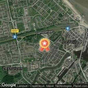 Afstand Zeemijlenloop Delfzijl 2018 route