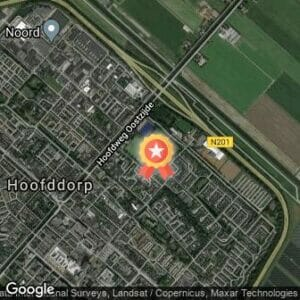 Afstand Zes Uur van de Haarlemmermeer Afgelast 2020 route