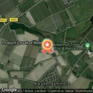 Afstand Zwaakseweelloop 2019 route