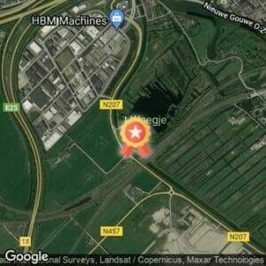 Afstand Zwemloop 't Weegje 2021 route