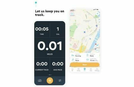 hardloop tracker runkeeper screenshot