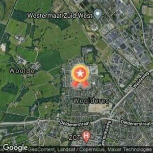 Afstand 1e Woolderesloop 2020 route