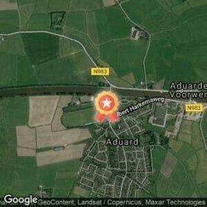 Afstand Abdijloop Aduard 2017 route