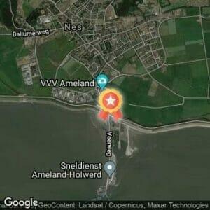 Afstand Ameland Adventurerun 2017 route
