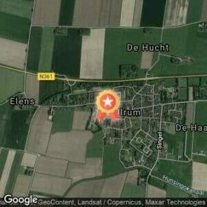 Afstand Halve marathon Lauwersoog-Ulrum 2019 route