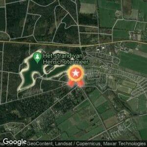 Afstand Henschotermeer Games wintereditie 2020 route