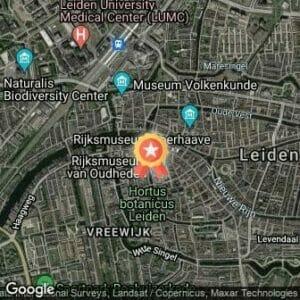 Afstand Leiden Marathon 2018 route
