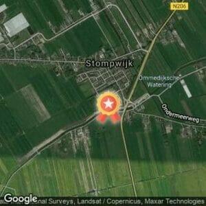 Afstand Meerhorstloop 2020 route