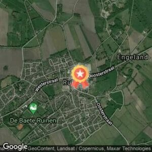 Afstand Mooi Ruinen Run 2018 route