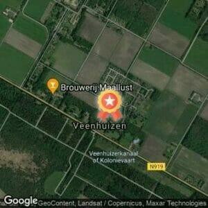 Afstand Run2day winter Bosloop Veenhuizen 2018 route