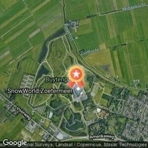 Afstand Snowworld FunRun 2019 route