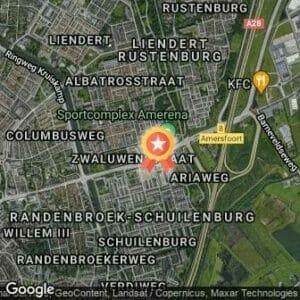 Afstand Trainingsmarathon Amersfoort 2020 route