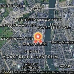 Afstand Univé Maastrichts Mooiste City Centre Trail 2018 route
