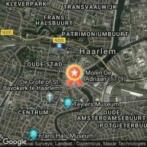 Afstand ZorgSpecialist Grachtenloop 2019 route